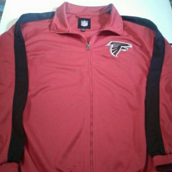 6fd3005d Atlanta Falcons NFL Jacket Full Zip XL